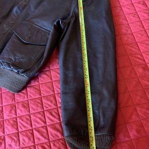 Cooper Jackets & Coats - Cooper Type A2 Goatskin Leather Flight Jacket 48L